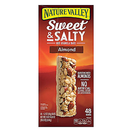 Nature Valley Sweet and Salty Almond Bar (1.2 oz., 48 pk.)
