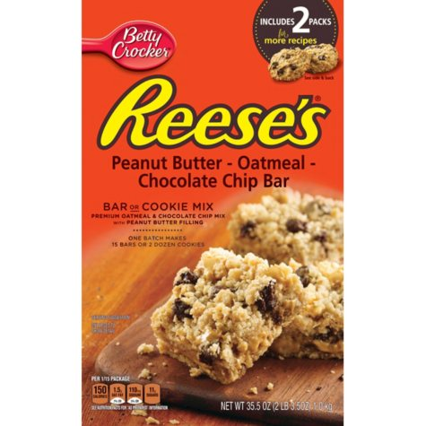 Reese's Bar or Cookie Mix - 37.5 oz. - 2 pk.