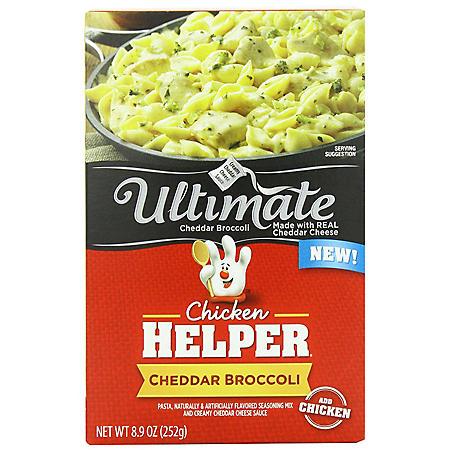 Ultimate Chicken Helper Cheddar Broccoli (4 pk.)