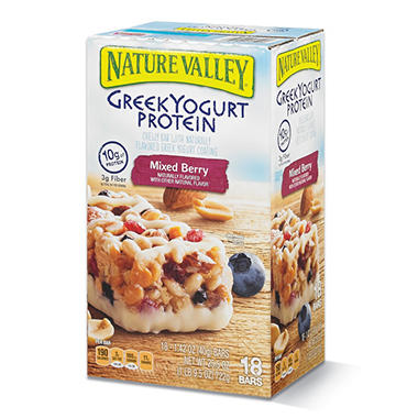 Nature Valley Greek Yogurt Protein Bar - 18 ct.