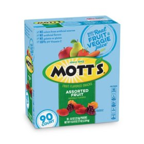 Mott's Medley Assorted Fruit Flavored Snacks (90 pk.)