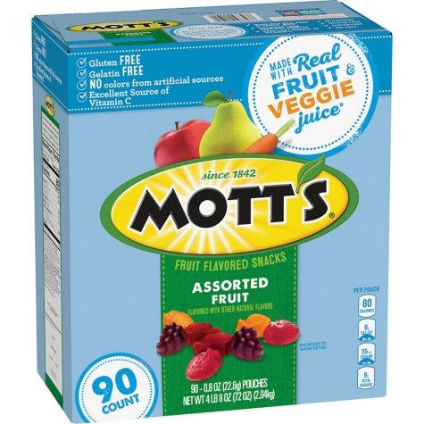 Mott's Medley Assorted Fruit Snacks (0.8 oz., 90 ct.)