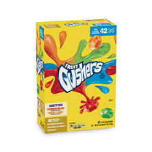 Betty Crocker Fruit Gushers Variety Pack (0.9 oz., 36 pk.)