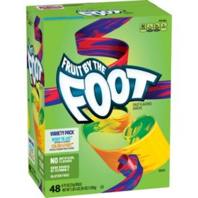 Fruit by the Foot Variety Pack (.75 oz., 48 ct.)