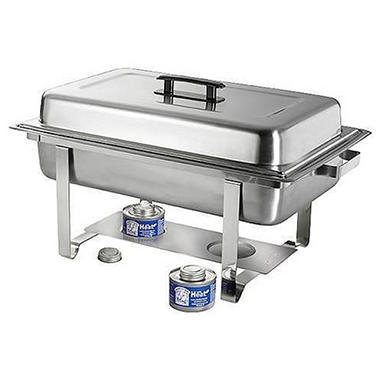Bakers & Chefs Rectangular Chafing Dish - 8 qt.