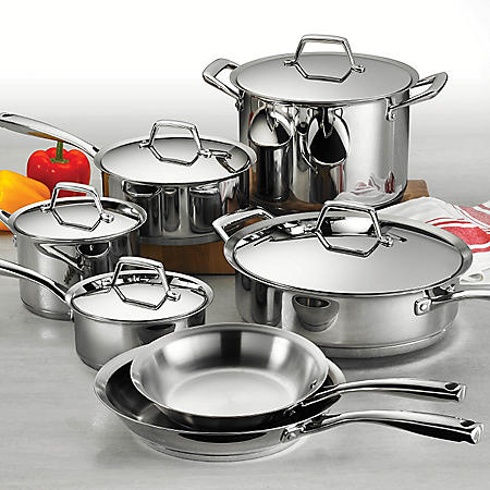 Tramontina Gourmet - Prima 12-Piece Tri-Ply Cookware Set
