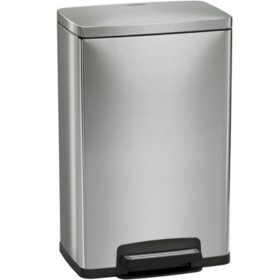 Tramontina Stainless Steel Step Trash Can, Select Color (13 gal)