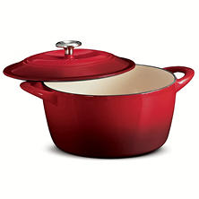 Tramontina Enameled Cast Iron 6.5 Qt. Covered Round Dutch Oven
