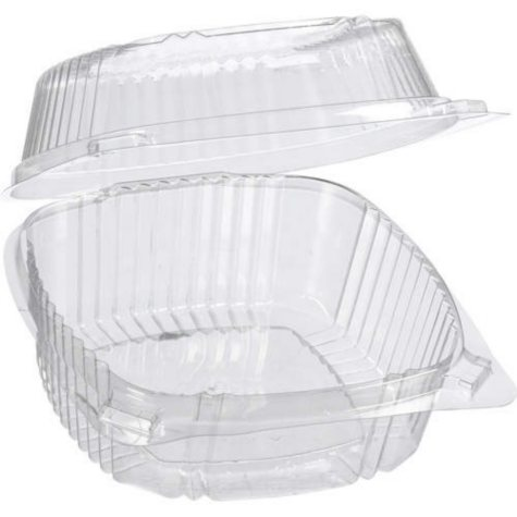 ClearView® SmartLock® Hinged Containers - 500ct
