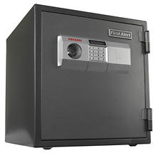 First Alert - 2084DF 1 Hour Steel Fire Safe with Digital Lock, 1.2 Cubic Foot, Gray
