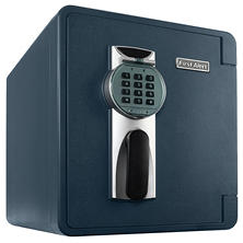First Alert - 2087DF Waterproof 1 Hour Fire Safe with Digital Lock, 0.94 Cubic Foot, Gray