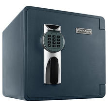 First Alert - 2092DF Waterproof 1-Hour Fire Safe with Digital Lock, 1.3 Cubic Feet, Gray