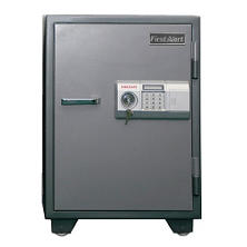 First Alert - 2190DF 2 Hour Steel Fire Safe with Digital Lock, 2.0 Cubic Feet, Gray