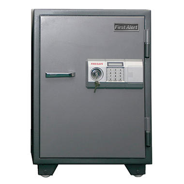First Alert - 2575DF 2-Hour Steel Fire Safe with Digital Lock, 2.7 Cubic Feet. Gray