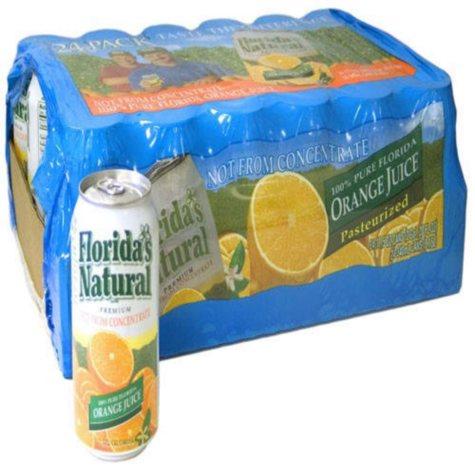 Florida's Natural® Orange Juice - 24/11.5oz. cans