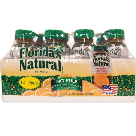 Florida's Natural Orange Juice - 10.1 fl. oz. bottles - 12 pk.