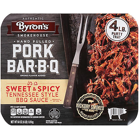 Byron's Fully Cooked Pork BBQ (4 lbs.)