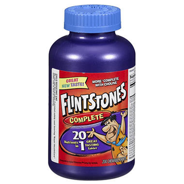 Bayer Flintstones Chewable Vitamins