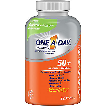 One A Day® Women's 50+ Multivitamin (300 tablets)