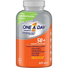 One A Day® Women's 50+ Multivitamin (220 tablets)