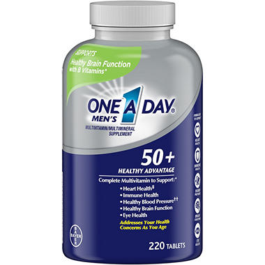 One A Day® Men's 50+ Multivitamin (220 tablets)
