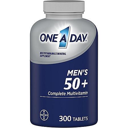 One A Day Men's 50+ Healthy Advantage Multivitamin (300 ct.)