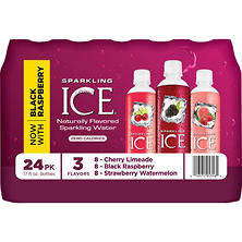 Sparkling ICE Sparkling Water, Fruit Blends Variety Pack (17 oz., 24 pk.)