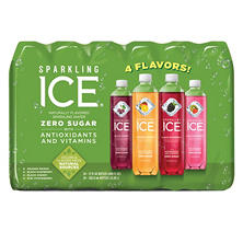 Sparkling Ice Fruit Blasters Variety Pack (17 oz., 24 pk.)