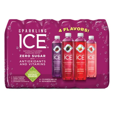 Sparkling Ice Very Berry Variety Pack (17 oz., 24 pk.)