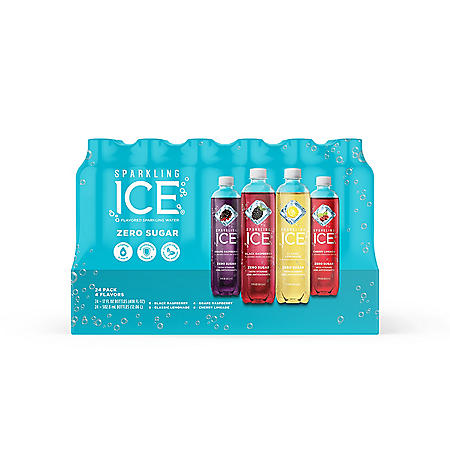 Sparkling Ice Berry Fusion Variety Pack (17 oz., 24 pk.)