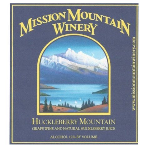 Mission Mountain Winery Huckleberry Mountain (750 ml)