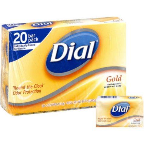 Dial® Gold Antibacterial Deodorant Soap