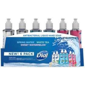 Dial Antibacterial Liquid Hand Soap, Variety Pack (9.375 oz., 6 pk.)