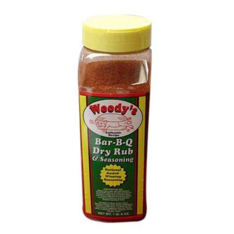 Woody's Bar-B-Q Dry Rub and Seasoning - 22 oz.