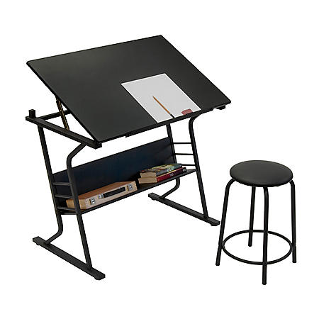 Eclipse Table with Stool