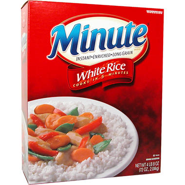 Kraft Minute White Rice - 72 oz.