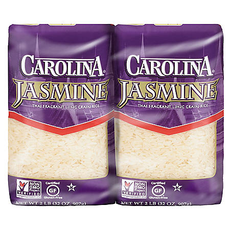 Carolina Jasmine Enriched Thai Fragrant Long Grain Rice (4 lbs.)