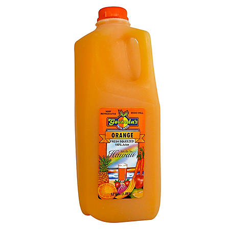 Govinda's Orange Juice - 1 half gallon