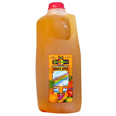 Govinda's Ginger Apple Juice - 1/2 gal.