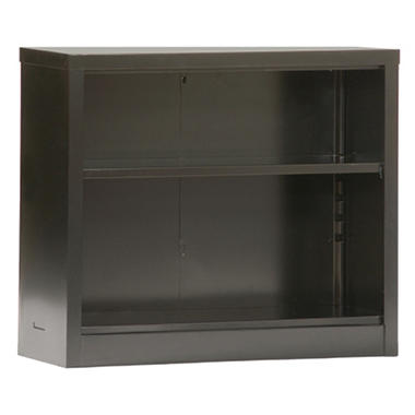 Sandusky Quick Assembly Black Color Steel Bookcase - 34.5