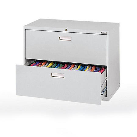 "600 Series 36""W 2-Drawer Lateral File Cabinet (Assorted Colors)"