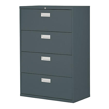 "600 Series 36""W 4-Drawer Lateral File Cabinet (Assorted Colors)"
