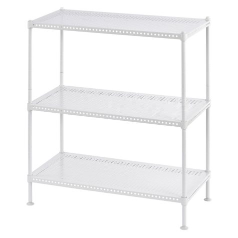 Heavy Duty Perforated 3-Shelf Wire Shelving