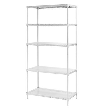 Sandusky Heavy Duty Perforated 5-Level Wire Shelving