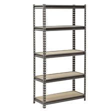 "Muscle Rack 5-Level Heavy-Duty Steel Shelving (30""W x 12""D x 60""H)"