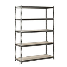 "Muscle Rack 5-Level Heavy Duty-Steel Shelving (48"" W x 18"" D x 72"" H)"