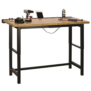 Bamboo Top Workbench