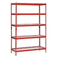 Deals on Muscle Rack 5-Shelf 72-inch Steel Shelving Unit