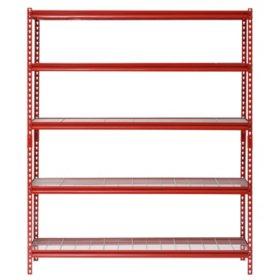 Muscle Rack 5 Shelf Steel Shelving Unit 60 Width X 72 Height