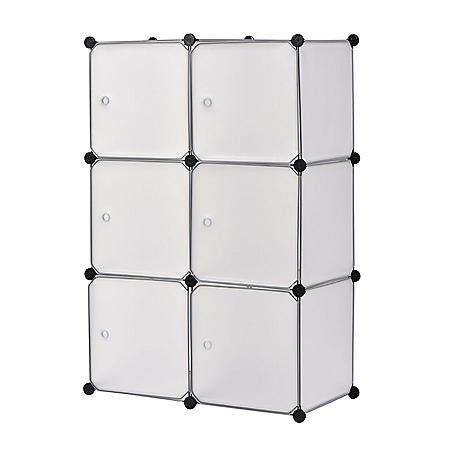 Muscle Rack Modular Cube Storage with Doors